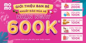 Giới thiệu MoMo lần đầu, chớp quà 600.000vnd